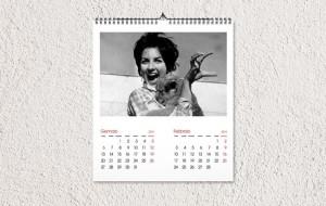 Abbiamo realizzato un calendario di Mina