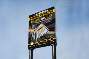 Cartello Night Bus