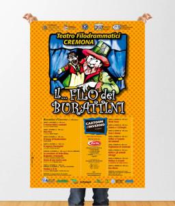 """Poster """"Il Filo Dei Burattini"""""""