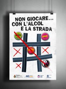 Poster No Alcol