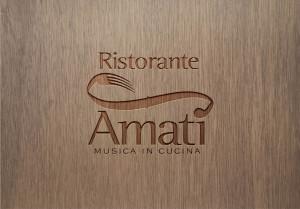 Abbiamo ideato e creato la targa del ristorante Amati