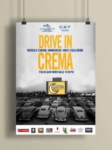 Locandina/Poster per evento Drive In Crema