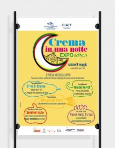 Creazione poster per evento Crema Expo